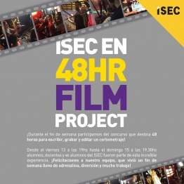 ISEC en el 48 Hour Film Project!