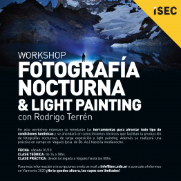 WORKSHOP FOTOGRAFÍA NOCTURNA & LIGHT PAINTING